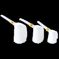 Gietkannen transparant wit PE flex 228x228
