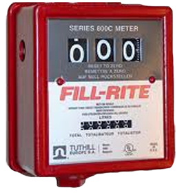 Mechanische vloeistofmeter FR 806 CLX418 80L min