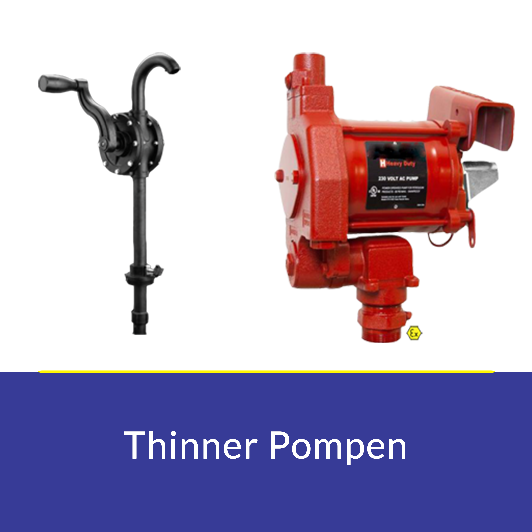 thinnerPompen