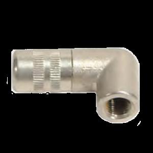 Besco hydraulische smeerkop m10 4klauw 90