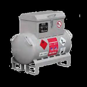 metal adr tank benzine handpomp 25l type2