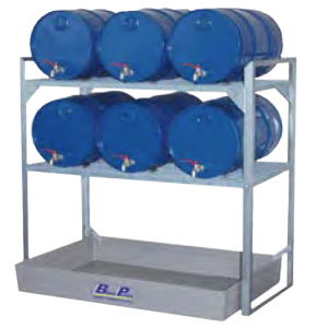 vatenruk 6x60l kunststof lekbak 1