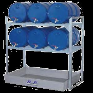 vatenruk 6x60l kunststof lekbak