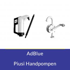 AdBlue Piusi Handpompen