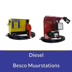 Diesel Besco Muurstations