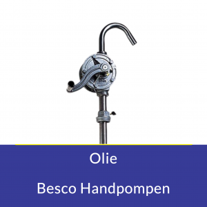 Olie Besco Handpompen