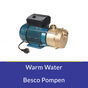 Warm water Besco pompen